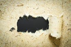 O preto de papel tem o fundo que de papel da amoreira você pode se aplicar a seu produto imagem de stock royalty free