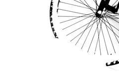 O preto roda dentro a neve Imagens de Stock