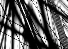 O preto sombreia o fundo Ilustração do Vetor