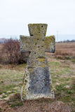 O preto transversal de pedra antigo do neer considera Imagens de Stock Royalty Free