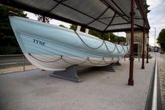 O primeiro barco salva-vidas dos protetores sul fotografia de stock royalty free