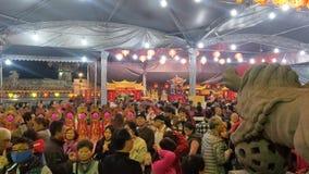 O primeiro dia do primeiro mês é 'Tian Gong Sheng ' foto de stock royalty free