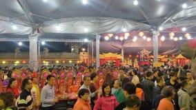 O primeiro dia do primeiro mês é 'Tian Gong Sheng ' fotografia de stock royalty free