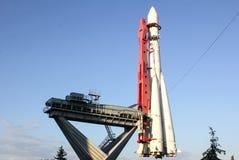 O primeiro foguete em que o homem voou imagem de stock royalty free