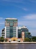 O primeiro hospital em Tailândia sob o céu azul Imagem de Stock