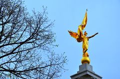 O primeiro monumento da divisão Foto de Stock Royalty Free