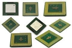 O processador central isolou-se Imagens de Stock