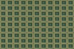O processador central isolou-se Fotos de Stock Royalty Free