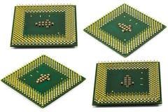 O processador central isolou-se Imagem de Stock Royalty Free