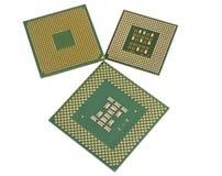 O processador central moderno Imagens de Stock