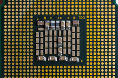 O processador do computador Imagens de Stock