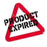 O produto expirou carimbo de borracha Imagens de Stock