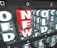 O produto novo está para fora escolha da máquina de venda automática do petisco a melhor Fotos de Stock Royalty Free