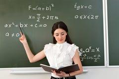 O professor toma o exame Imagem de Stock Royalty Free