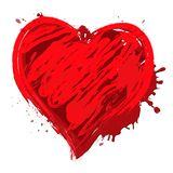 O projeto do coração significa a ilustração de Valentine Love 3d ilustração do vetor