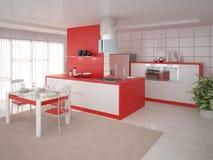 O projeto perfeito da cozinha Ilustração Royalty Free