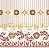 O projeto sem emenda do teste padrão de matéria têxtil para a mulher veste ilustração stock