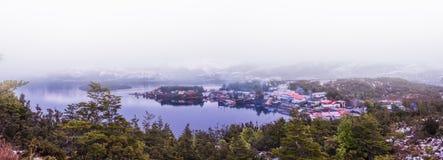 O Puerto Eden Village imagem de stock royalty free