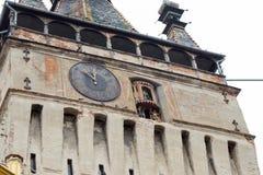 O pulso de disparo decorado da torre de pulso de disparo serviu como a via principal à citadela do ` s da cidade na cidade de Sig Imagens de Stock Royalty Free