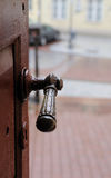 O punho de porta Fotos de Stock Royalty Free