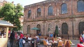 O quadrado de St Ann, Manchester Reino Unido foto de stock