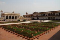 O quadrado do forte de Agra Imagens de Stock Royalty Free