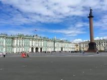 O quadrado do palácio, St Petersburg Imagem de Stock