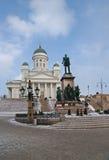 O quadrado do Senado em Helsínquia Foto de Stock Royalty Free