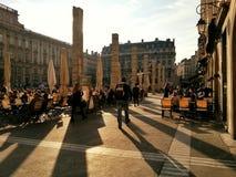 O quadrado do terreux, cidade velha de Lyon, França Imagens de Stock Royalty Free