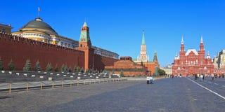 O quadrado vermelho em Moscovo, Rússia imagem de stock