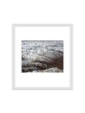 o quadro da foto isolado com o trajeto de grampeamento para decora, interior, Imagens de Stock