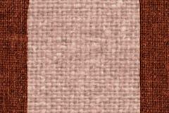 O quadro de matéria têxtil, exterior da tela, lona da jovem corça, material da corda, retro-denominou o fundo Imagem de Stock Royalty Free