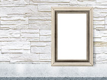 O quadro moderno vazio do estilo, 3D rende Fotografia de Stock