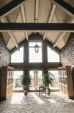 O quarto da noiva boudoir Interior Wedding Taxas da noiva da manh? imagem de stock royalty free