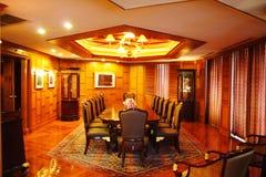 O quarto de reunião Fotos de Stock