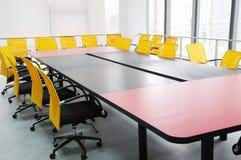 O quarto de reunião da companhia Imagem de Stock Royalty Free