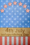 O quarto do Dia da Independência de julho Foto de Stock