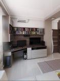 O quarto do homem novo, design de interiores, rende 3D Imagem de Stock Royalty Free