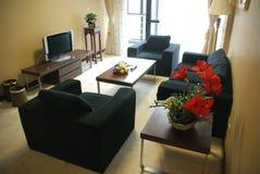 O quarto do hotel Fotografia de Stock Royalty Free