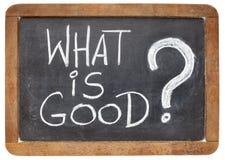 O que é boa pergunta Fotos de Stock Royalty Free