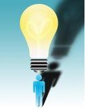 O que é a idéia grande? Foto de Stock Royalty Free