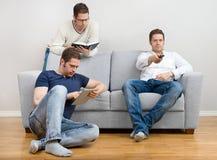 O que faça em casa em feriados? Imagem de Stock Royalty Free