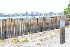 O quebra-mar Imagem de Stock