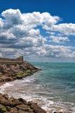 O quebra-mar Foto de Stock