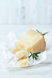 O queijo do carneiro italiano foto de stock