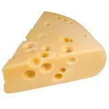 O queijo isolou-se foto de stock royalty free