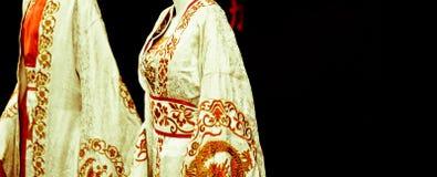 O quimono dourado do samurai Imagens de Stock Royalty Free