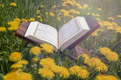 O Quran santamente fotos de stock