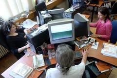 O rádio católico croata este ano comemorou 20 anos de transmissão em Zagreb Imagens de Stock Royalty Free