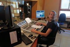 O rádio católico croata este ano comemorou 20 anos de transmissão em Zagreb Fotografia de Stock